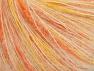 Contenido de fibra 35% Kid Mohair, 35% Poliamida, 30% Acrílico, Yellow, White, Orange, Brand ICE, fnt2-63286