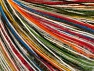 Contenido de fibra 40% Acrílico, 30% Lana, 30% Poliamida, White, Rainbow, Brand ICE, fnt2-63288