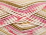 Fiber Content 100% Acrylic, White, Pink Shades, Brand ICE, Cream, Camel, Yarn Thickness 4 Medium  Worsted, Afghan, Aran, fnt2-63338