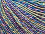 Contenido de fibra 55% Algodón, 45% Acrílico, Yellow, Pink, Lilac, Brand ICE, Green, Blue Shades, Yarn Thickness 3 Light  DK, Light, Worsted, fnt2-63415