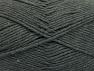 Fiberinnehåll 50% SuperFine Acrylic, 50% SuperFine Nylon, Brand ICE, Dark Grey, fnt2-63463