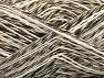 Fiber Content 40% Cotton, 40% Acrylic, 20% Viscose, Brand ICE, Cream, Black, fnt2-63472
