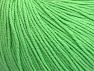Fiber Content 60% Cotton, 40% Acrylic, Light Green, Brand ICE, fnt2-63479