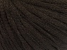 Fiber Content 50% Wool, 50% Acrylic, Brand ICE, Dark Brown, fnt2-64001