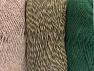 Vezelgehalte 90% Acryl, 10% Polyester, Brand ICE, Dark Khaki, Camel, fnt2-64019