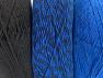 Vezelgehalte 90% Acryl, 10% Polyester, Brand ICE, Blue, Black, fnt2-64021