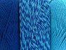 Fiberinnehåll 90% Akryl, 10% Polyester, Turquoise, Brand ICE, Blue, fnt2-64022