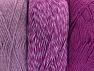 Fiberinnehåll 90% Akryl, 10% Polyester, Lilac, Brand ICE, Fuchsia, fnt2-64023
