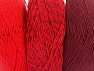 Vezelgehalte 90% Acryl, 10% Polyester, Red, Maroon, Brand ICE, fnt2-64025