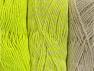 Fiberinnehåll 90% Akryl, 10% Polyester, Neon Yellow, Brand ICE, Ecru, fnt2-64029