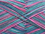 Fiber Content 100% Cotton, Turquoise, Teal, Pink, Brand ICE, fnt2-64040