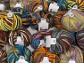 Paint Ball This mixed lot includes a total of 2000 gr yarn. There is no standard for ball weight. Also disregard any information on the labels. You will get what you see in the photo. Fiber Content 50% Wool, 50% Acrylic, Brand ICE, fnt2-64076