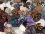 Leftover Yarns This mixed lot includes unlabeled leftover yarns. There is no standard for fiber content and ball weight. The total weight is 2000 gr (70.5 oz.). You will get what you see in the photo. Brand ICE, fnt2-64091