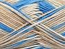 Fiber Content 100% Cotton, Brand ICE, Cream, Blue, Beige, fnt2-64188