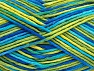 Fiberinnehåll 100% Bomull, Brand ICE, Green Shades, Blue Shades, fnt2-64197