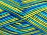 Fiber Content 100% Cotton, Brand ICE, Green Shades, Blue Shades, fnt2-64197