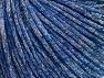 Fiberinnehåll 39% Akryl, 27% Polyamid, 21% metalliskt Lurex, 13% Mohair, Silver, Brand ICE, Blue, fnt2-64418