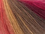 Fiber Content 60% Acrylic, 20% Angora, 20% Wool, Red, Pink Shades, Brand ICE, Brown Shades, fnt2-64425