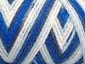 Fiberinnehåll 50% Polyamid, 50% Akryl, White, Navy, Brand ICE, Blue Shades, fnt2-64465