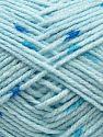 Contenido de fibra 80% Acrílico, 20% Lana, Brand Ice Yarns, Baby Blue, fnt2-71251