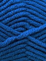 Fiber Content 50% Merino Wool, 50% Acrylic, Brand Kuka Yarns, Blue, Yarn Thickness 5 Bulky  Chunky, Craft, Rug, fnt2-16727