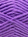 Fiber Content 50% Merino Wool, 50% Acrylic, Violet, Brand KUKA, Yarn Thickness 5 Bulky  Chunky, Craft, Rug, fnt2-16733