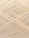 Fiber Content 60% Merino Wool, 40% Acrylic, Brand ICE, Cream, Yarn Thickness 2 Fine  Sport, Baby, fnt2-21090