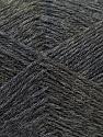 Fiber Content 60% Merino Wool, 40% Acrylic, Brand ICE, Dark Grey, Yarn Thickness 2 Fine  Sport, Baby, fnt2-21097