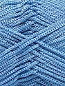 Fiber Content 100% Polyester, Yarn Thickness Other, Light Blue, Brand Ice Yarns, fnt2-21647