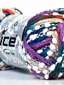 Fiber Content 85% Acrylic, 15% Nylon, Lilac, Brand ICE, Green, Copper, Blue, Yarn Thickness 6 SuperBulky  Bulky, Roving, fnt2-22273