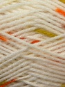 Fiber Content 100% Baby Acrylic, White, Orange, Brand ICE, Green, Brown, Yarn Thickness 2 Fine  Sport, Baby, fnt2-23499
