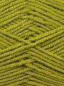 Worsted  Fiber Content 100% Acrylic, Light Green, Brand ICE, Yarn Thickness 4 Medium  Worsted, Afghan, Aran, fnt2-23737