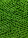 Worsted  Fiber Content 100% Acrylic, Brand ICE, Green, Yarn Thickness 4 Medium  Worsted, Afghan, Aran, fnt2-23738