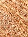 Fiber Content 100% Polyester, Light Orange, Brand Kuka Yarns, Yarn Thickness 3 Light  DK, Light, Worsted, fnt2-24754