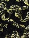 Fiber Content 100% Acrylic, Light Green, Brand ICE, Black, Yarn Thickness 6 SuperBulky  Bulky, Roving, fnt2-25162