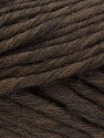 Fiber Content 100% Australian Wool, Brand ICE, Dark Brown, Yarn Thickness 6 SuperBulky  Bulky, Roving, fnt2-26156
