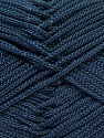 Width is 3 mm Fiber Content 100% Polyester, Yarn Thickness Other, Navy, Brand ICE, fnt2-27083