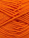 Baby cotton is a 100% premium giza cotton yarn exclusively made as a baby yarn. It is anti-bacterial and machine washable! Fiber Content 100% Giza Cotton, Orange, Brand Ice Yarns, Yarn Thickness 3 Light  DK, Light, Worsted, fnt2-27896