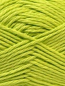 Baby cotton is a 100% premium giza cotton yarn exclusively made as a baby yarn. It is anti-bacterial and machine washable! Fiber Content 100% Giza Cotton, Light Green, Brand Ice Yarns, Yarn Thickness 3 Light  DK, Light, Worsted, fnt2-27900