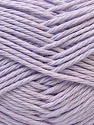 Baby cotton is a 100% premium giza cotton yarn exclusively made as a baby yarn. It is anti-bacterial and machine washable! Fiber Content 100% Giza Cotton, Light Lilac, Brand Ice Yarns, Yarn Thickness 3 Light  DK, Light, Worsted, fnt2-27904