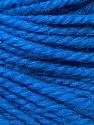 Fiber Content 40% Acrylic, 35% Wool, 25% Alpaca, Brand ICE, Blue, Yarn Thickness 5 Bulky  Chunky, Craft, Rug, fnt2-31126
