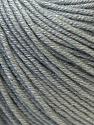Fiber Content 60% Cotton, 40% Acrylic, Brand ICE, Grey, Yarn Thickness 2 Fine  Sport, Baby, fnt2-32621