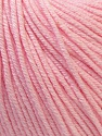 Fiber Content 60% Cotton, 40% Acrylic, Brand ICE, Baby Pink, Yarn Thickness 2 Fine  Sport, Baby, fnt2-32821