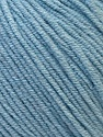 Fiber Content 50% Acrylic, 50% Cotton, Light Blue, Brand Ice Yarns, Yarn Thickness 3 Light  DK, Light, Worsted, fnt2-33063