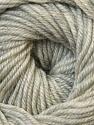 Fiber Content 100% Wool, Light Grey Melange, Brand ICE, Yarn Thickness 3 Light  DK, Light, Worsted, fnt2-34709