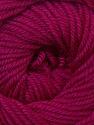 Fiber Content 100% Wool, Brand ICE, Dark Fuchsia, Yarn Thickness 3 Light  DK, Light, Worsted, fnt2-34723