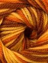 Fiber Content 100% Wool, Yellow, Orange, Brand ICE, Brown, Yarn Thickness 3 Light  DK, Light, Worsted, fnt2-34729