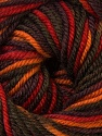 Fiber Content 100% Wool, Red, Orange, Khaki, Brand ICE, Brown, Yarn Thickness 3 Light  DK, Light, Worsted, fnt2-34730