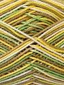 Ne: 8/4. Nm 14/4 Fiber Content 100% Mercerised Cotton, Yellow, White, Khaki, Brand ICE, Green, Yarn Thickness 2 Fine  Sport, Baby, fnt2-34755
