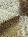 Fiber Content 70% Mohair, 30% Acrylic, White, Brand ICE, Green, Camel, Yarn Thickness 3 Light  DK, Light, Worsted, fnt2-35064